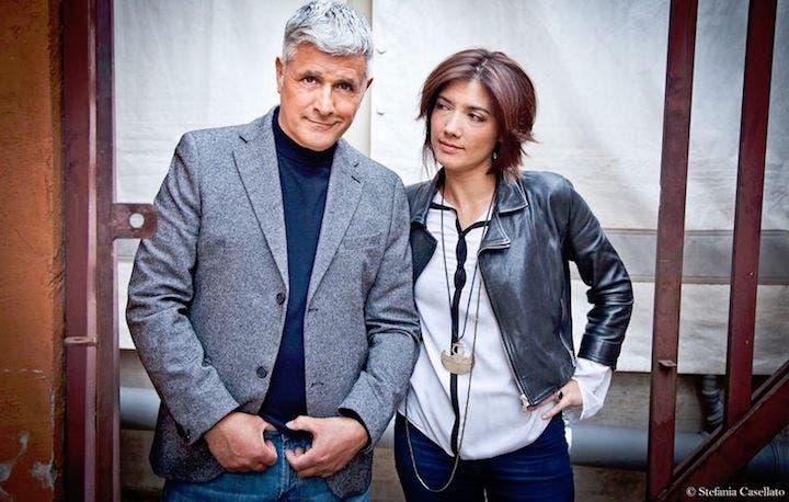 Enrico Lucci e Valentina Petrini