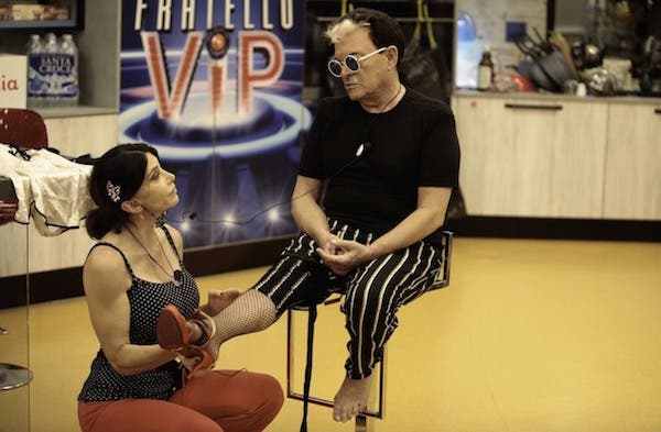 Carmen Di Pietro e Malgioglio