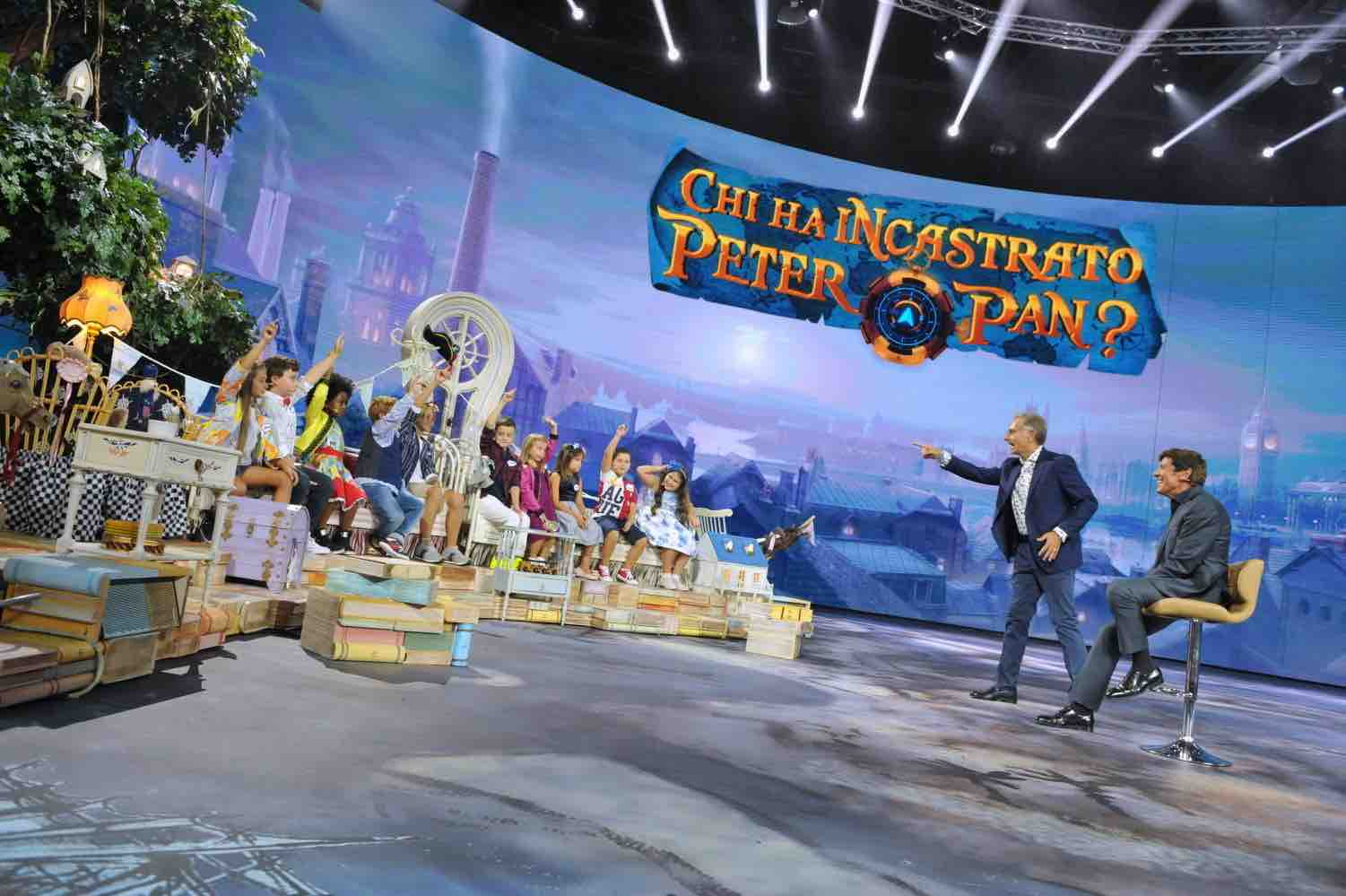 Chi ha incastrato Peter Pan 2017