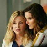 Grey's Anatomy 14 - Jessica Capshaw e Stefania Spampinato