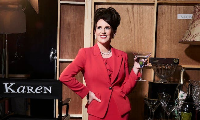 Megan Mullally karen