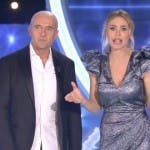 Alfonso Signorini e Ilary Blasi - Semifinale GF Vip 2017