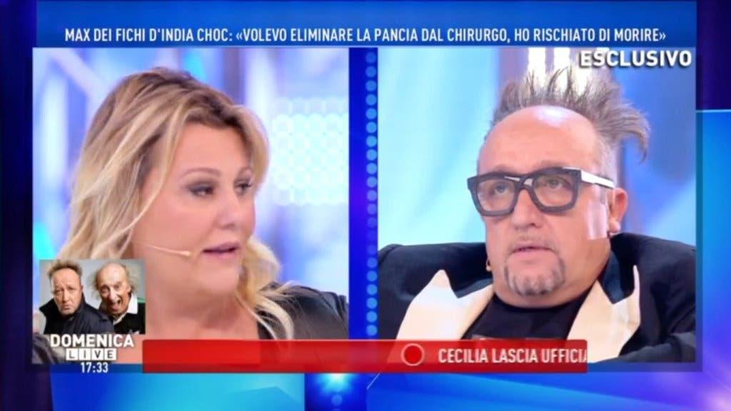 Domenica Live - Manuela Russo e Max Cavallari
