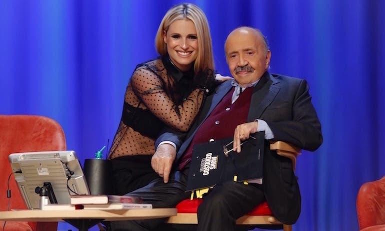 Michelle Hunziker e Maurizio Costanzo