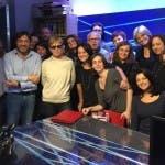 Milena Gabanelli e la redazione di Report
