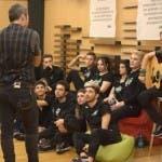 Amici 17 - i cantanti a lezione con Alex Britti