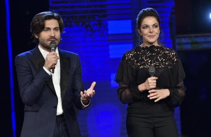 Federico Russo e Claudia Gerini