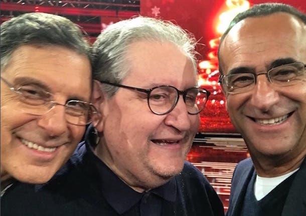 Fabrizio Frizzi torna a L'Eredità. Puntata speciale in coppia con Carlo Conti