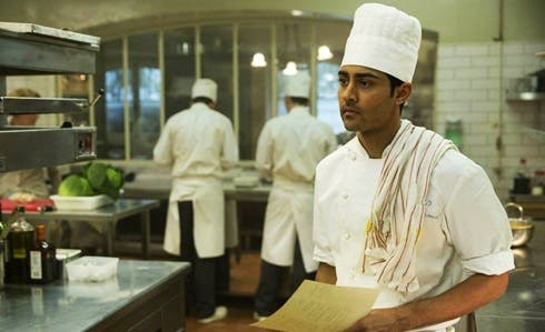 Manish Dayal in Amore, cucina e curry