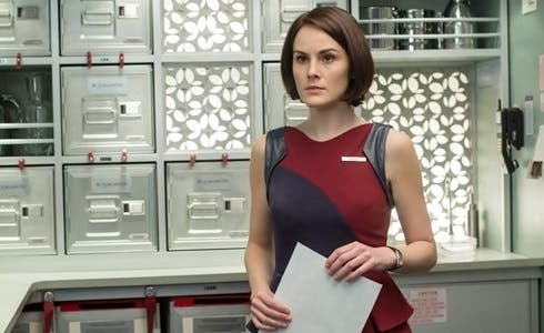 Michelle Dockery in Non-Stop