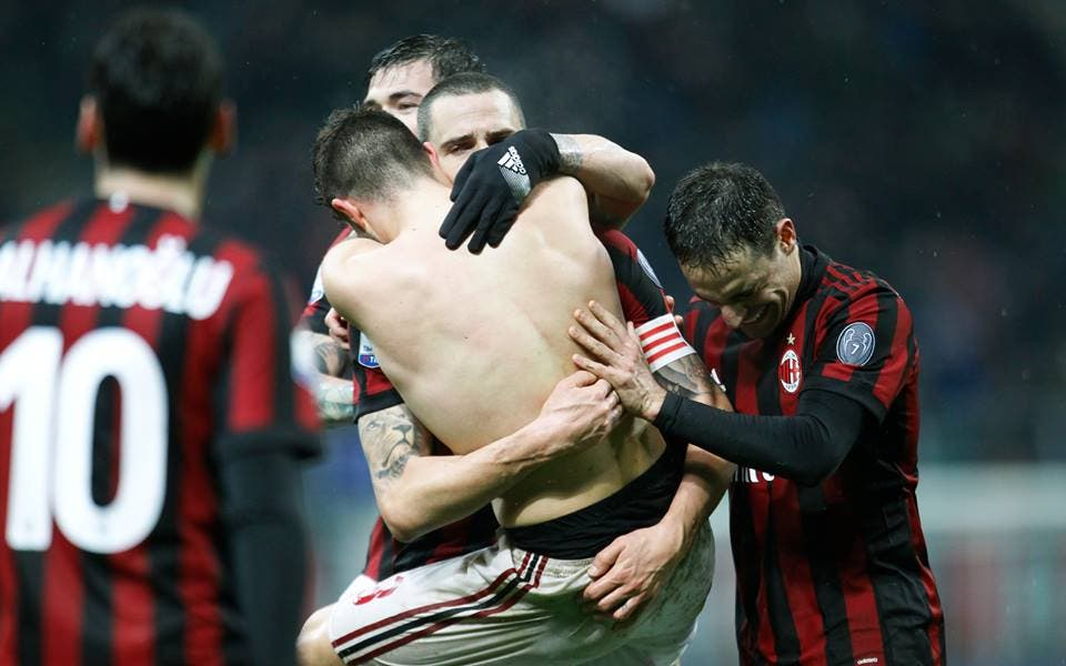 Milan - Inter (da Facebook)