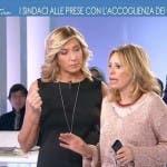 L'Aria che Tira, Myrta Merlino e Alessandra Mussolini