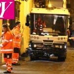 Amici: i ragazzi puliscono le strade di Roma