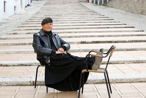 Terence Hill in Don Matteo 11