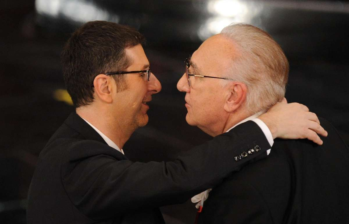 Fabio Fazio e Pippo Baudo