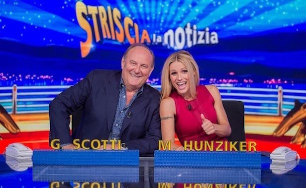 Gerry Scotti e Michelle Hunziker