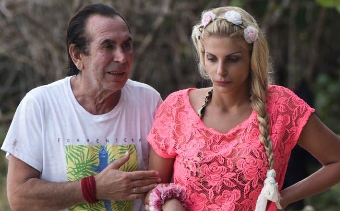 Giucas Casella e Francesca Cipriani