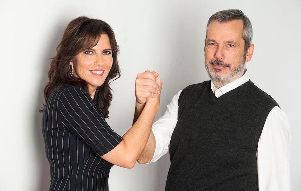 Annalisa Bruchi e Giancarlo Loquenzi
