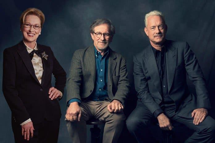 Meryl Streep, Steven Spielberg, Tom Hanks