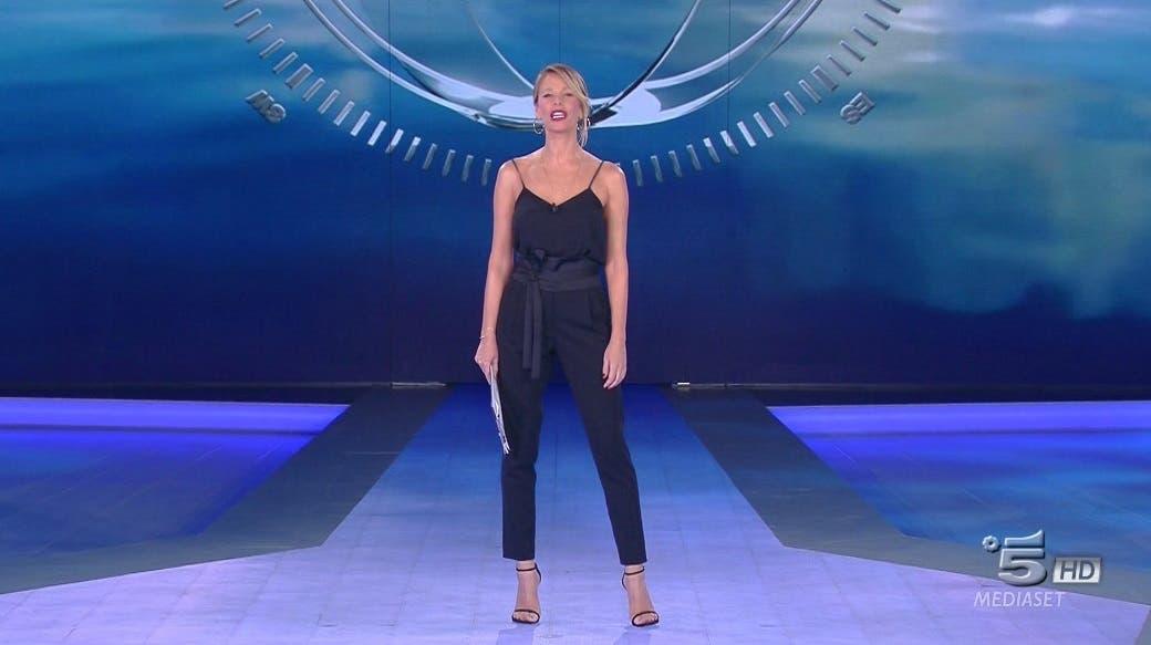 Alessia Marcuzzi - Terza puntata Isola dei Famosi 2018