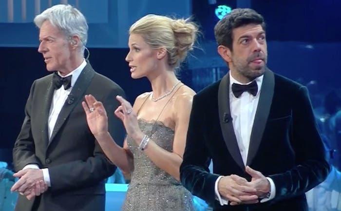 Baglioni, Hunziker e Favino a Sanremo 2018
