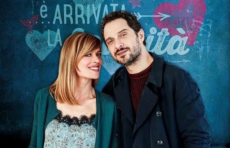 Claudia Pandolfi e Claudio Santamaria