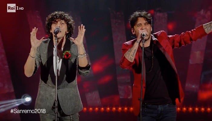 Ermal Meta e Fabrizio Moro - Sanremo 2018