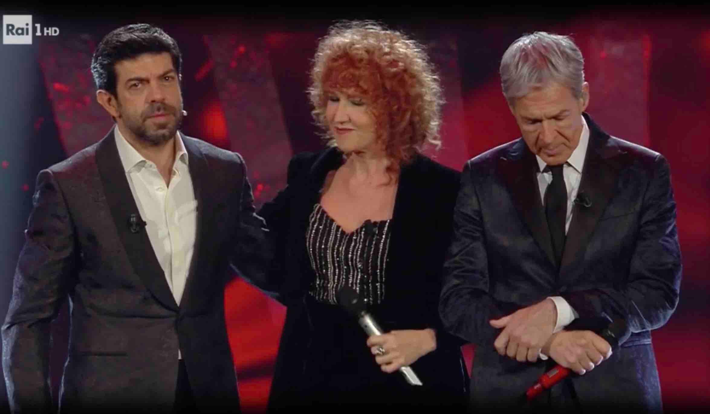 Favino, Mannoia e Baglioni a Sanremo 2018