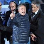 Festival di Sanremo 2018, uomo irrompe sul palco