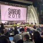 Festival di Sanremo, sala stampa.