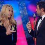 Hunziker e Favino - Sanremo 2018