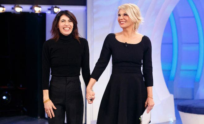 Giorgia e Maria De Filippi