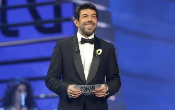 Pierfrancesco Favino - Sanremo 2018 (foto Ufficio Stampa Rai)