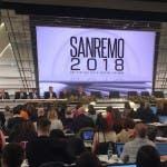 Sanremo 2018, conferenza terza serata