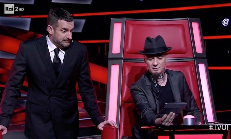 ascolti tv the voice
