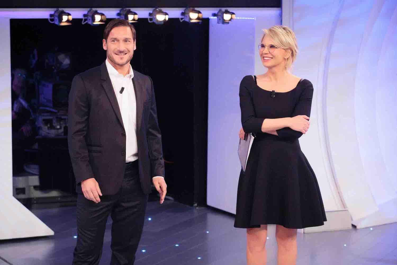 C'è posta per te - Maria De Filippi e Francesco Totti