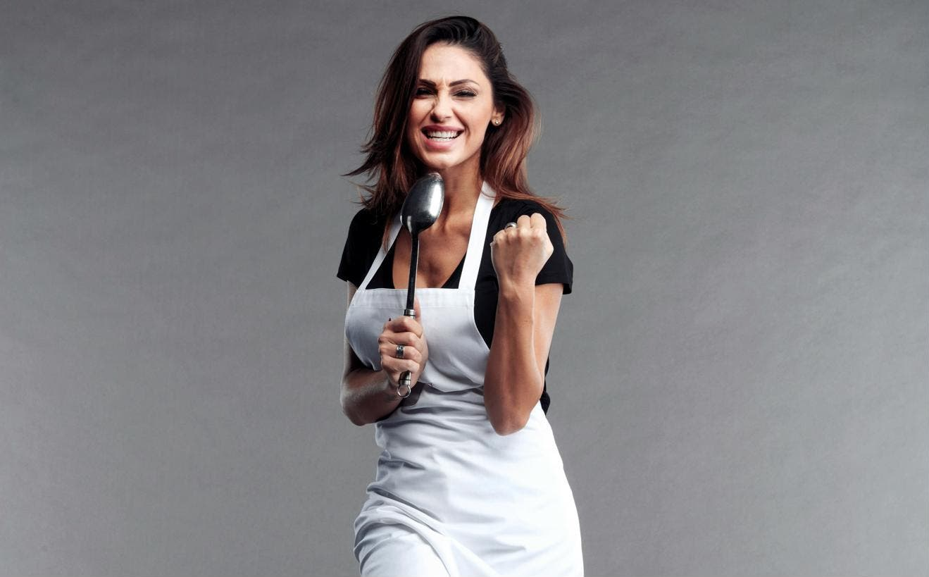 Celebrity MasterChef 2 - Anna Tatangelo