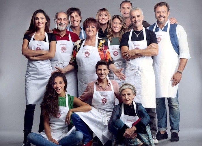 Concorrenti Celebrity Masterchef 2018