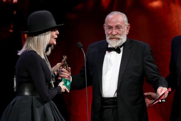 David di Donatello 2018 - Diane Keaton e Renato Carpentieri