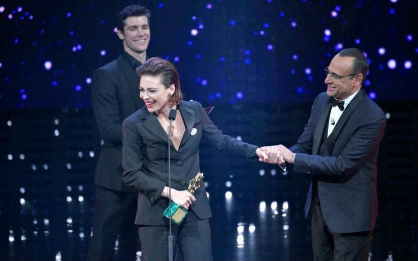 David di Donatello 2018 - Jasmine Trinca Miglior Attrice Protagonista