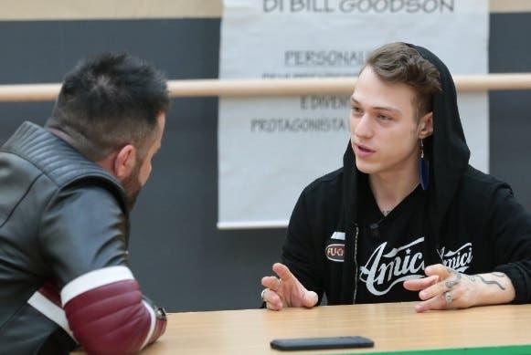 Luca Tommassini e Irama - Amici 2018