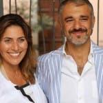 Marco D'Arrigo con Caroline Denti, fondatori di California Bakery