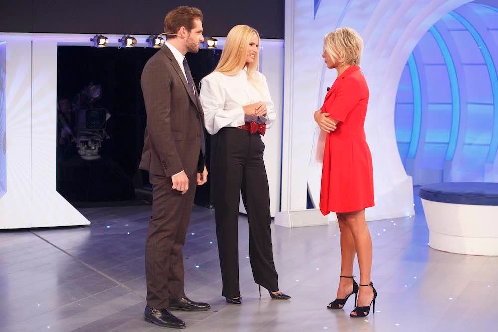 Maria De Filippi, Michelle Hunziker e Tomaso Trussardi