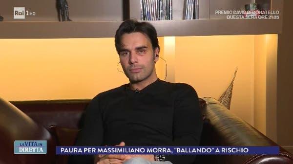 Massimiliano Morra a La Vita in Diretta