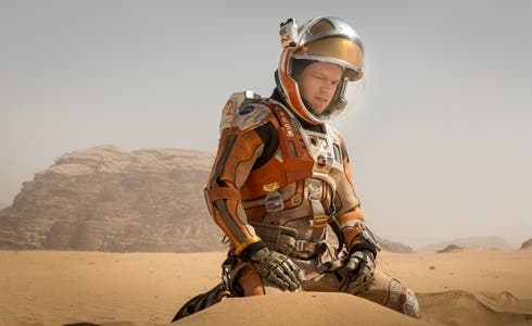 Matt Damon in Sopravvissuto - The Martian