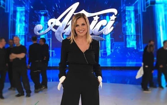 Simona Ventura ad Amici