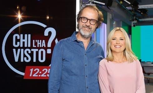 Stefano Coletta (direttore di Rai3) e Federica Sciarelli