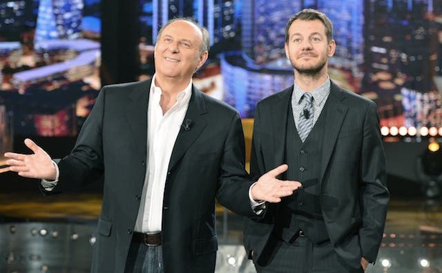Gerry Scotti e Alessandro Cattelan