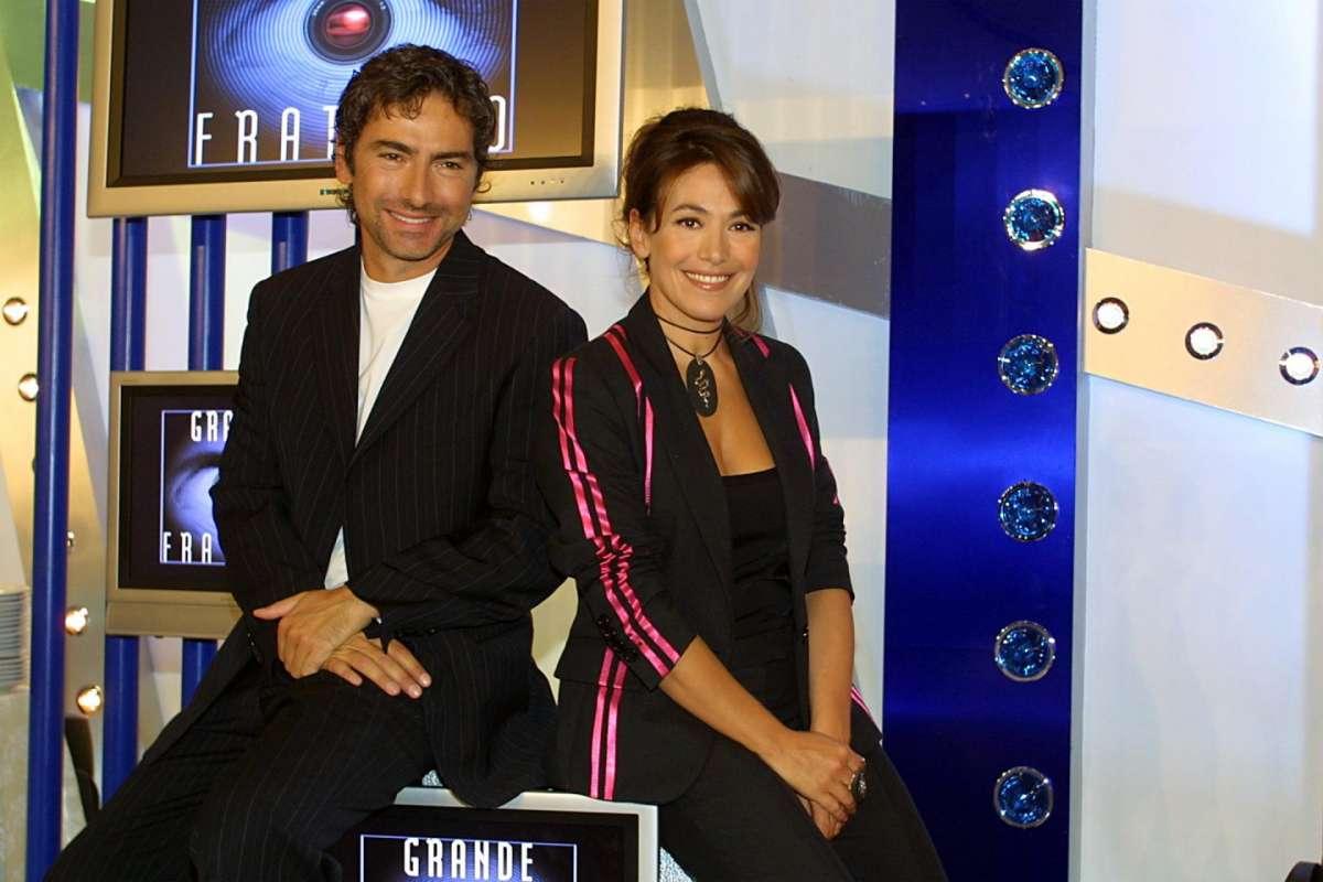 Marco Liorni e Barbara D'Urso - GF 4
