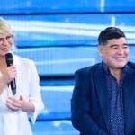 Maria De Filippi e Diego Armando Maradona_ascolti amici